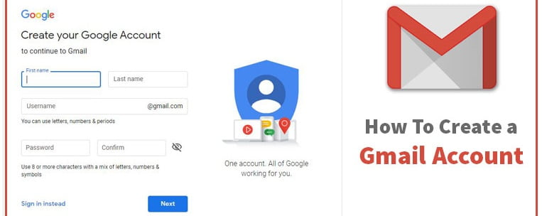 How-To Create a Gmail Account