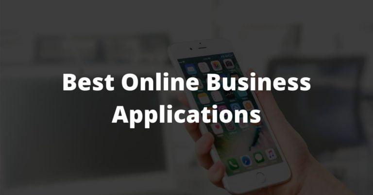 Best Online Business Applications