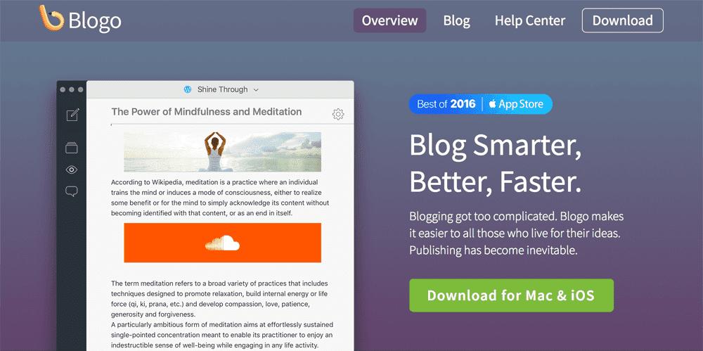 Blogo-Blog-Editor-App-Tool