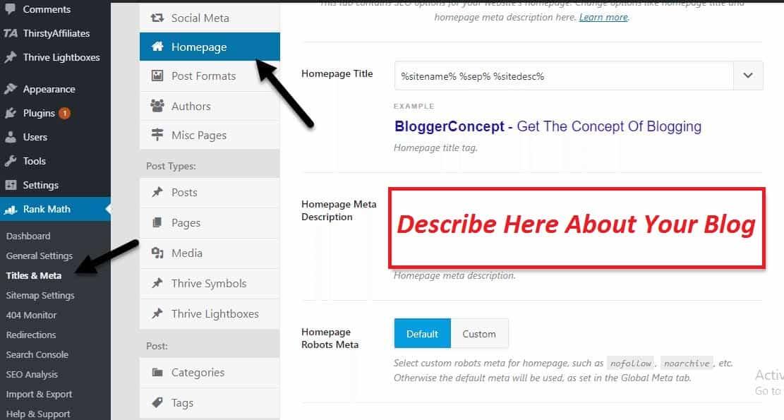 how to write blog description 1